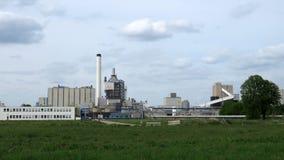 Завод соли Akzo Nobel в Hengelo стоковое изображение
