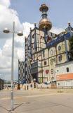 Завод топления Spittelau района Стоковые Изображения