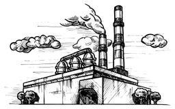 Завод чертежа Стоковая Фотография