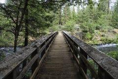 заводь моста сверх Стоковая Фотография