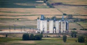 Завод этанола Стоковые Изображения