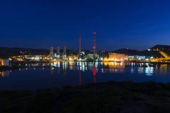 Завод электричества Стоковая Фотография RF
