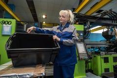Завод для обрабатывать пластмасс стоковые фотографии rf