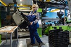 Завод для обрабатывать пластмасс стоковые изображения rf