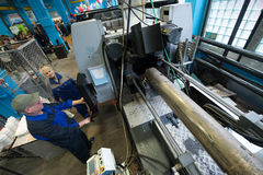 Завод для обрабатывать пластмасс стоковые изображения