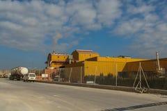 Завод для продукции керамических масс Стоковая Фотография RF