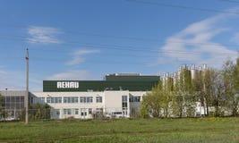 Завод для продукции профилей окна и двери под фирменным наименованием REHAU Стоковое Изображение