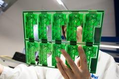 Завод для продукции сигналов тревоги автомобиля Стоковое Изображение RF