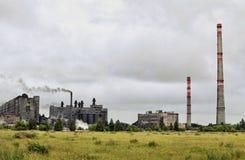 Завод для продукции электродов Стоковая Фотография RF