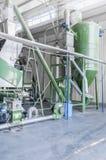 Завод для рециркулировать бутылки Стоковое Изображение