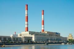 Завод 12 CHP, Москва, Россия Стоковые Изображения