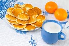 завтраки сваренные домой стоковые фото