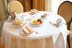 завтрак вверх стоковые изображения rf