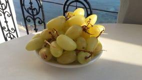Завтрак виноградины стоковые фото