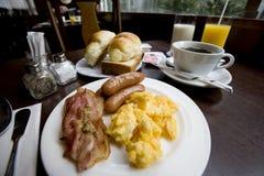 завтрак вкусный Стоковая Фотография