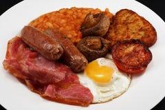 завтрак вполне стоковая фотография