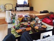 Завтрак в Германии Стоковые Фотографии RF