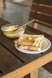 Завтрак в утре стоковое фото