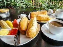 завтрак готовый Стоковые Изображения