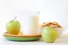 завтрак здоровый Стоковые Фотографии RF