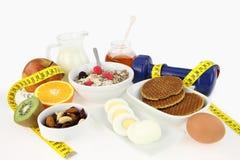 завтрак здоровый Стоковое Фото
