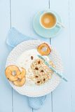завтрак здоровый Стоковые Изображения