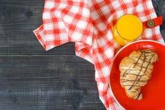 Завтрак или закуска в сельской местности Стоковое фото RF