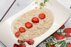 Завтрак: каша Стоковая Фотография RF