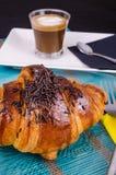 Завтрак круассана Стоковое Изображение RF
