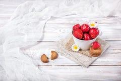 Завтрак клубники стоковая фотография
