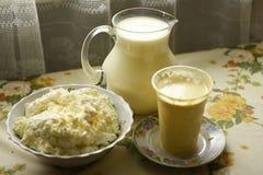 Завтрак молокозавода Стоковые Фото