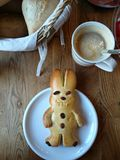 Завтрак на восточной стоковое изображение rf
