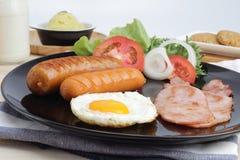 Завтрак на таблице Стоковая Фотография