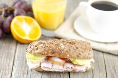 Завтрак на таблице Стоковое фото RF