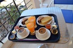 Завтрак на террасе Стоковое фото RF