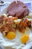 Завтрак обедающего Стоковые Фотографии RF