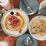 завтрак-обед! Стоковые Изображения