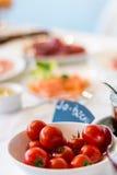 Завтрак-обед/томаты/завтрак стоковое изображение rf