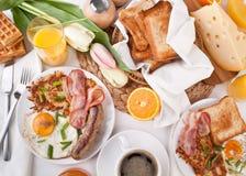 завтрак-обед manhattan традиционный Стоковые Изображения RF