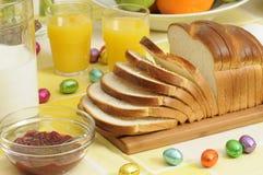 завтрак пасха Стоковые Фото