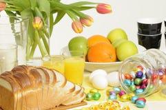 завтрак пасха Стоковая Фотография RF