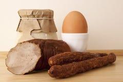 Завтрак пасхи стоковое изображение