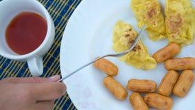 завтрак просто Стоковое фото RF