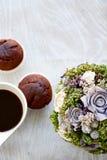 завтрак романтичный Стоковое Изображение RF