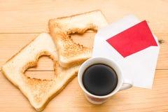 завтрак романтичный Стоковое фото RF