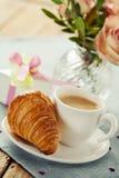 завтрак романтичный Стоковая Фотография