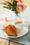 завтрак романтичный Стоковые Изображения RF