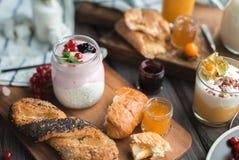 завтрак свежий Стоковые Фото