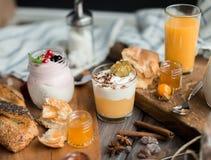 завтрак свежий Стоковые Изображения RF