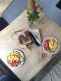 завтрак совершенный Стоковое Фото
